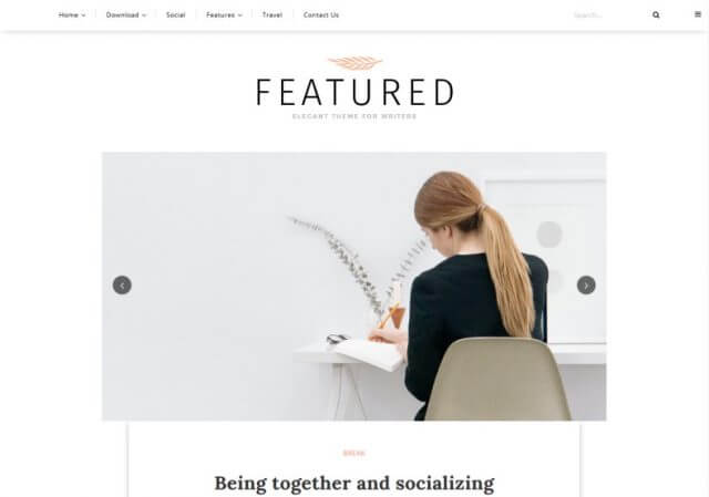 Featured-Blogger-Template-sabmera