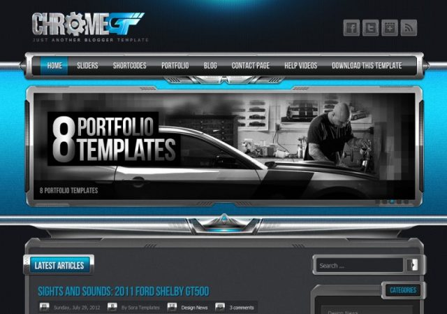 ChromeGT-Blogger-Template-Sabmera